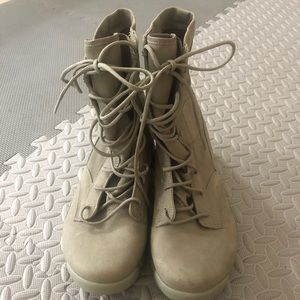 Sage Army Green Nike Boots